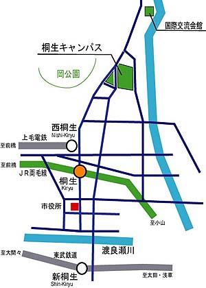 鉄道アクセスマップ